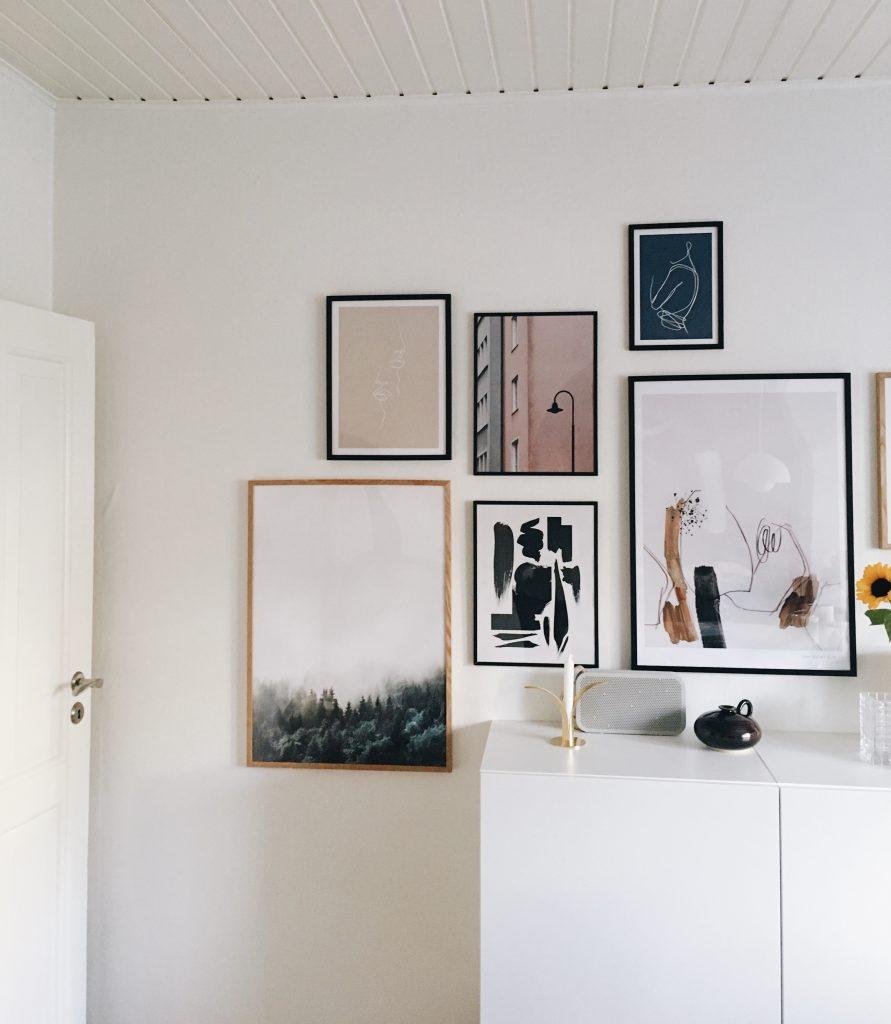 kunst på væggen