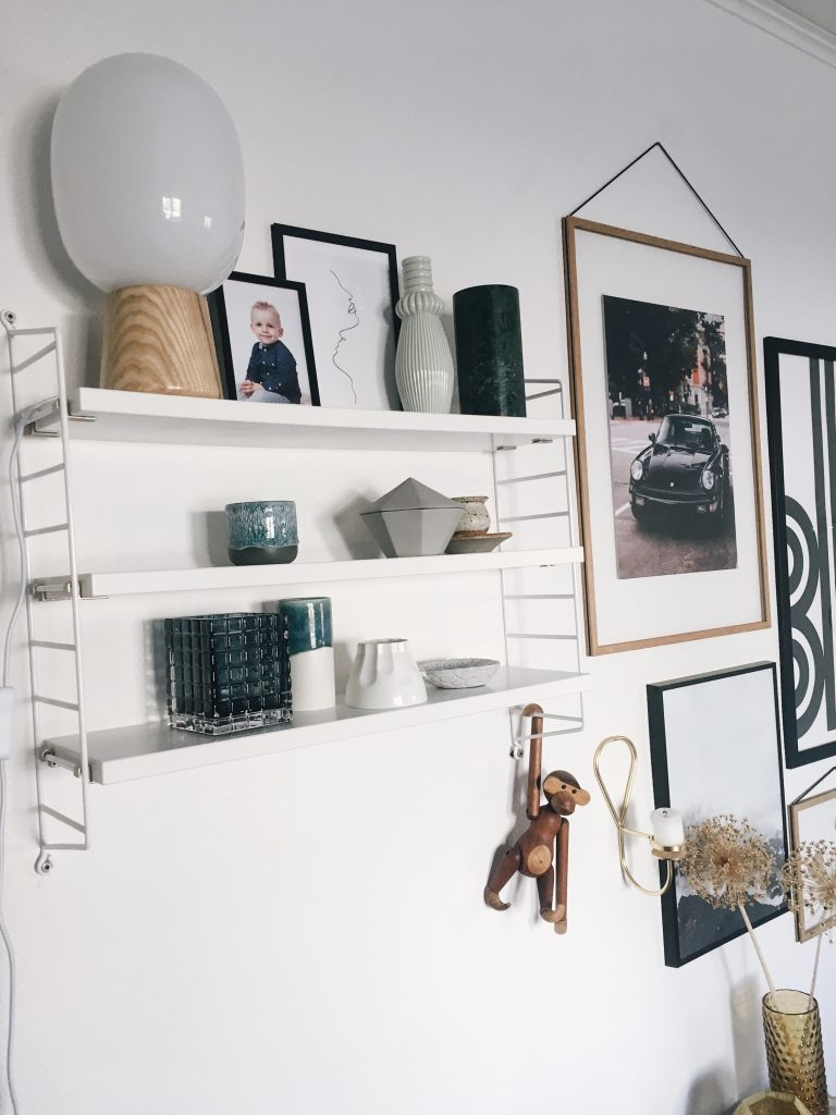 Personlige billeder i hjemmet