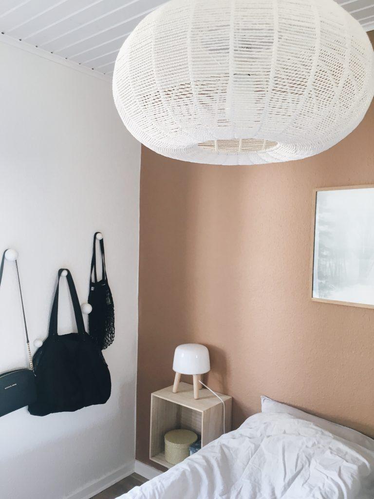 Soveværelse med farver